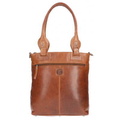 Shopper Leather Design DO 20-1921 Tobacco