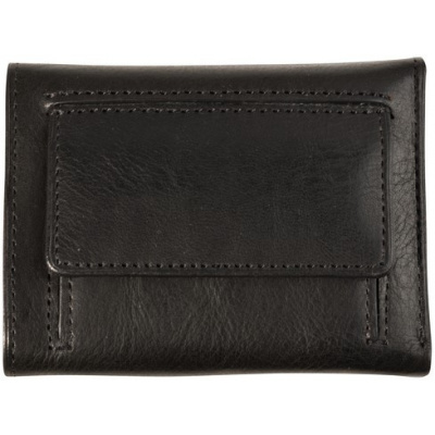 Foto van Mini Portemonnee Tony Perotti Furbo met bankbiljet en kleingeldvak Zwart