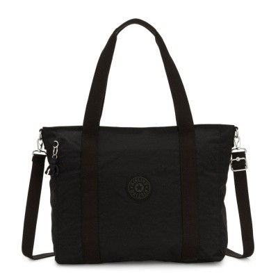 Shopper Kipling Asseni Black Noir