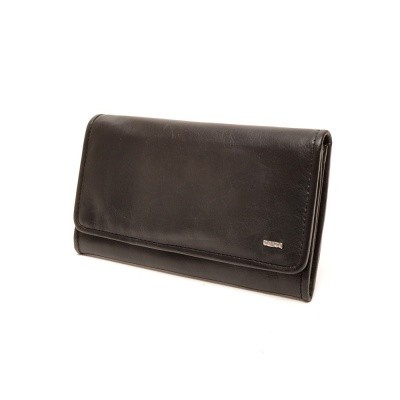 Berba Soft 001-403 Ladies Wallet Black