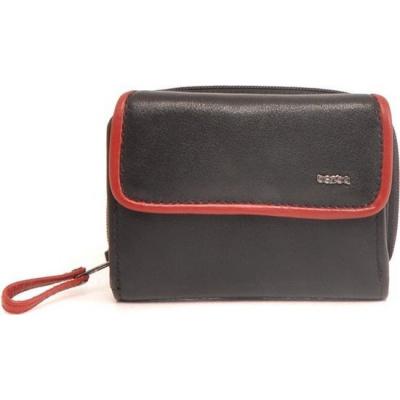 Damesportemonnee Berba 001-184-15 Black-Red