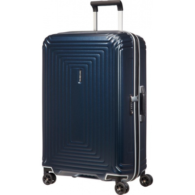Foto van Koffer Samsonite Neopulse DLX Spinner Matte Midnight Blue