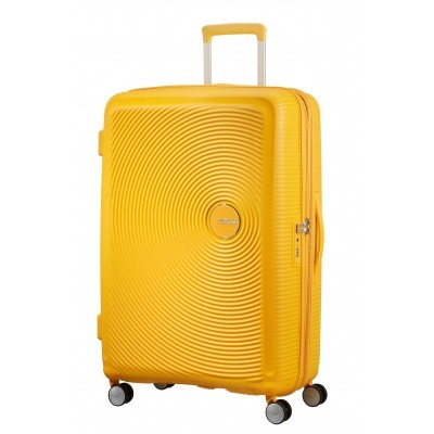 American tourister Soundbox SPINNER 77/28 Golden Yellow