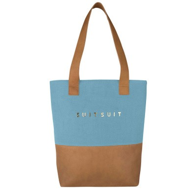 Shopper SUITSUIT Fab Seventies Bag duo Reef Water Blue