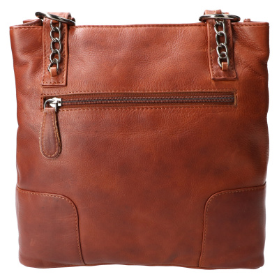 Hand/Rugtas Leather Design HB 660 Cognac