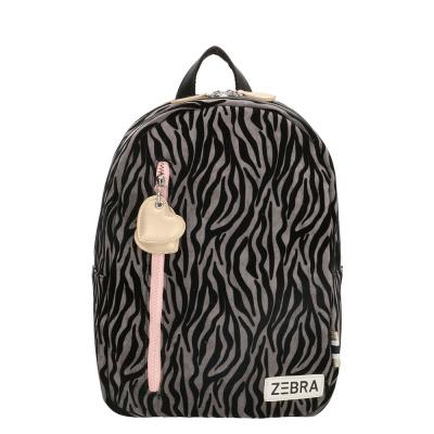 Rugtas Zebra (M) 826602 Grijs