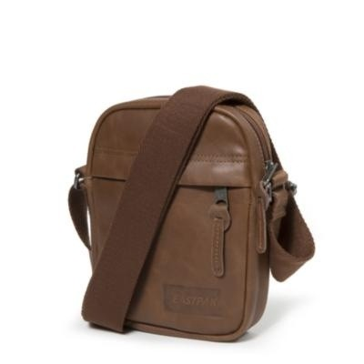 Foto van Eastpak THE ONE Schoudertas Brownie Leather
