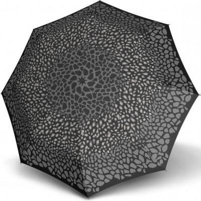 Knirps T-200 Medium Duomatic Paraplu Animal Stone