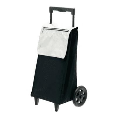 Boodschappentrolley Secc Black/silver
