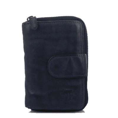Portemonnee Design.Bear Design Portemonnee Cl 13550 Blauw Taska Lederwaren