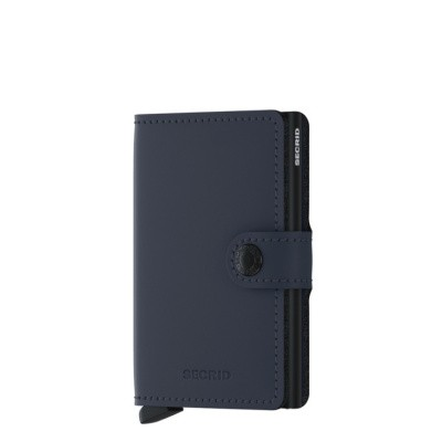 Foto van Miniwallet Secrid Matte Night Blue