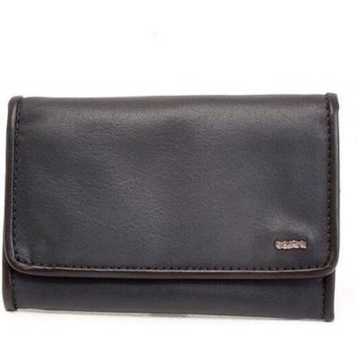 Berba Leren dames portemonnee Soft 001-303 Navy/Black