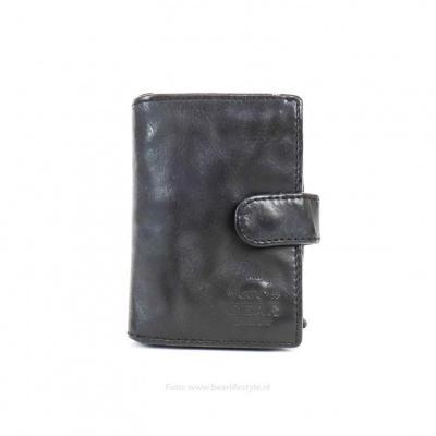 Portemonnee/Pasjeshouder Bear Design CL 527 Zwart