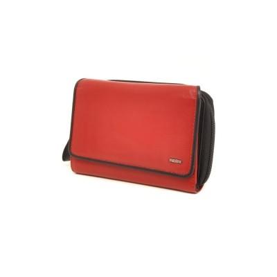 Foto van Berba Soft 001-580 Ladies Wallet Red-Black