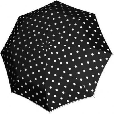 Knirps T-200 Medium Duomatic Paraplu Dot Art Black