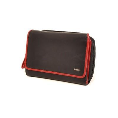 Foto van Berba Soft 001-580 Ladies Wallet Black-Red