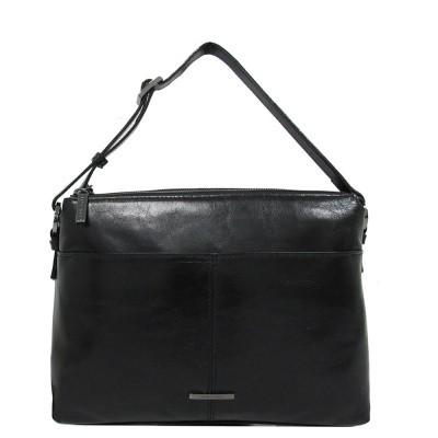 Foto van Claudio Ferrici Pelle Vecchia Shoulder Bag black