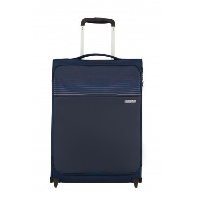 Foto van Handbagage American Tourister Lite Ray Upright 55 midnight navy