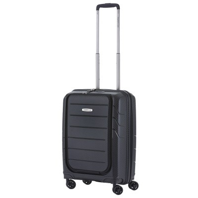 Foto van CarryOn Trolley 55cm Mobile Worker Black