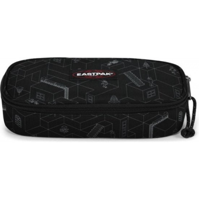 Foto van Etui Eastpak Oval Single Blocks Black
