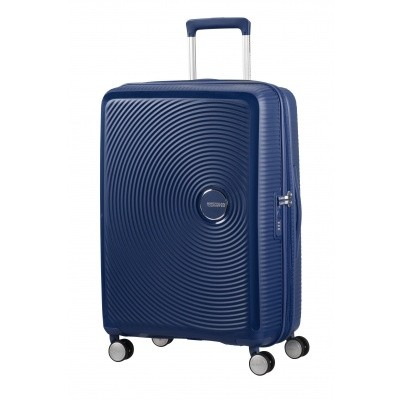 Foto van American tourister Soundbox SPINNER 67/24 Midnight Navy