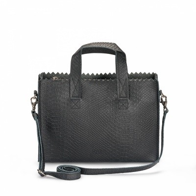 Foto van MPB Mini Handbag Cross-body Anaconda Black