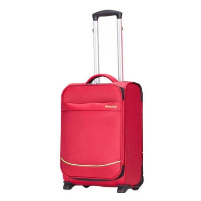 Foto van Handbagage koffer Decent Super-Light Trolley 50 donker Rood