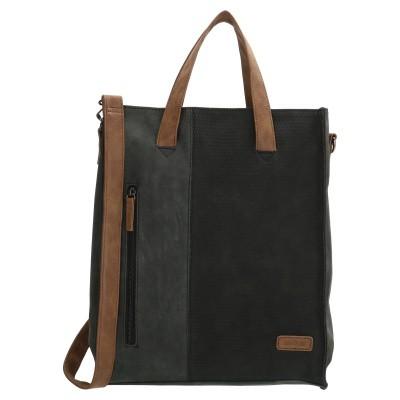 Shopper Beagles 18088-001 Zwart
