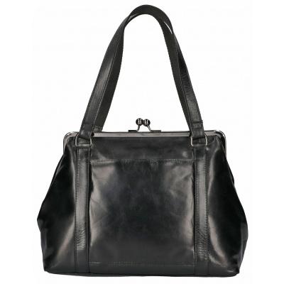 Hand/Beugeltas Leather Design CC 2013 Zwart