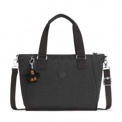 Kipling Medium handbag (with removable shoulderstrap) Black