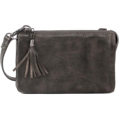 Bear Design Schoudertasje/Clutch Alessia Dark Grey