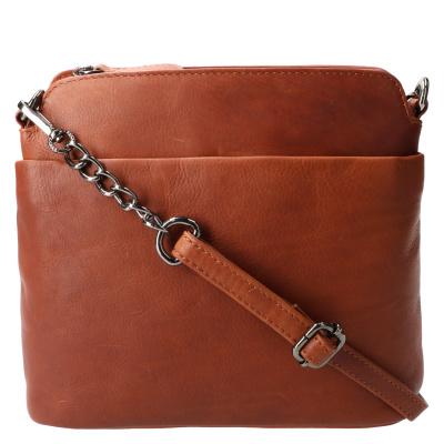 Schoudertas Leather Design HB 108 Cognac