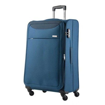 Foto van CarryOn Trolley 77 cm AIR Steel Blue