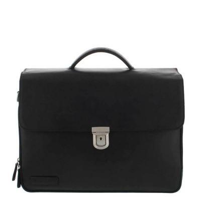 Foto van Plevier Business/laptoptas 3 vaks 15.6 inch 33 Zwart