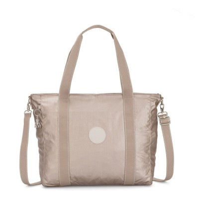 Shopper Kipling Asseni Metallic Glow