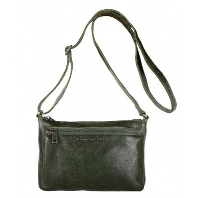 Foto van Schoudertas Cowboysbag BAG HURON Dark Green