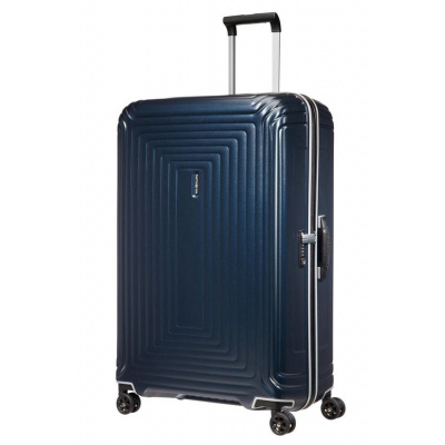 Foto van Koffer Samsonite Neopulse DLX Matte Midnight Blue