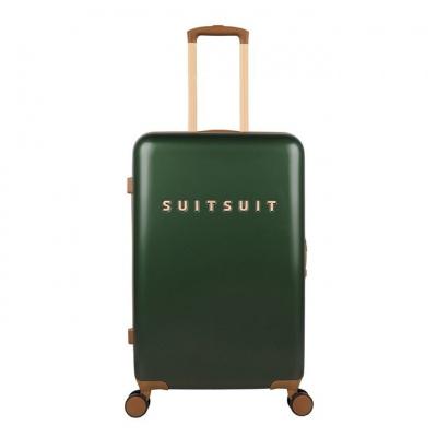 Foto van Koffer SuitSuit Fab Seventies 66 cm Beetle Green