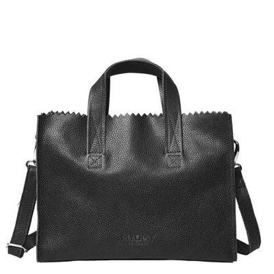 Hand/Schoudertas Myomy My Paper Bag Rambler Black