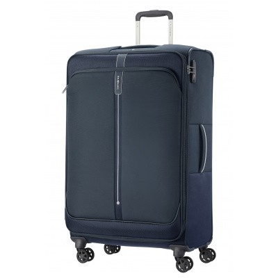 Foto van Samsonite PopSoda Spinner 78 EXP Dark Blue