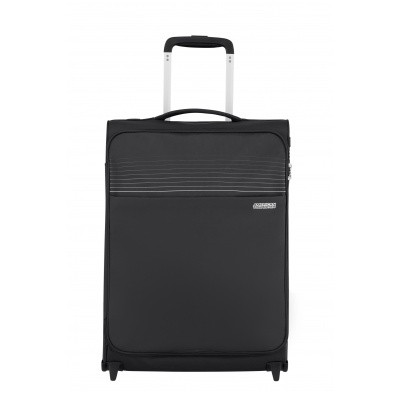 Handbagage American Tourister Lite Ray Upright 55 jet black