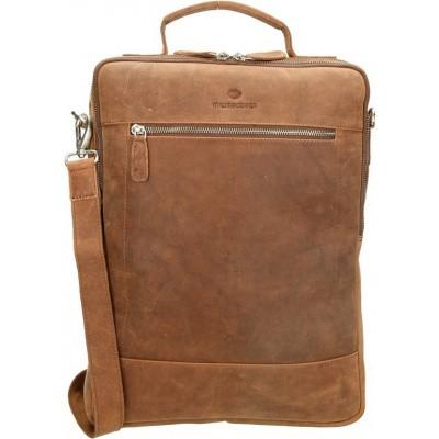 Rugzak/laptoptas MicMacBags Oklahoma 15.6 inch 16384 Bruin