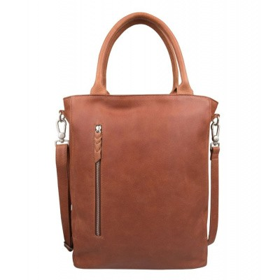 Cowboysbag LAPTOP BAG LUTON BIG 15.6 INCH Cognac