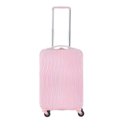 CarryOn Trolley 55cm Wave Baby Pink