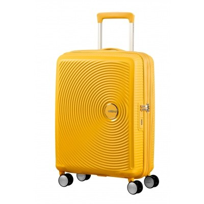 Foto van American tourister Soundbox SPINNER 55/20 Golden Yellow