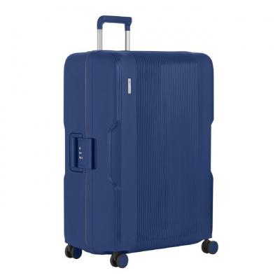 Foto van Koffer CarryOn Protector 4 Wiel 77 CM Blue