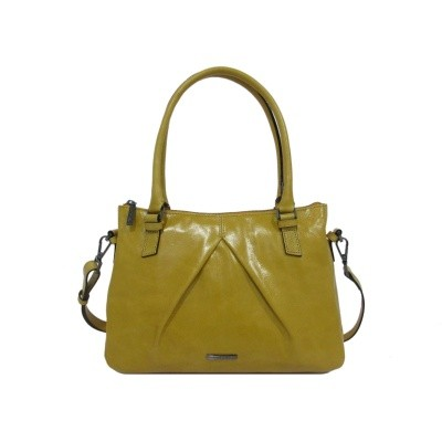 Claudio Ferrici Pelle Vecchia Shoulder Bag sunflower
