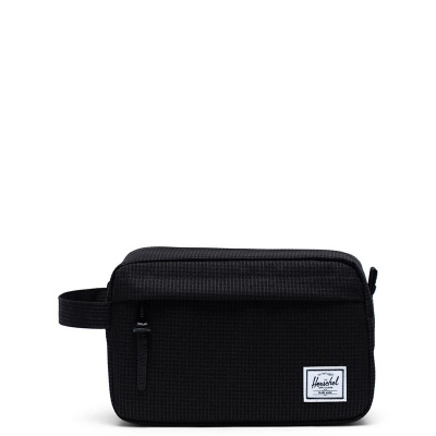 Foto van Toilettas Herschel Chapter Dark Grid/black
