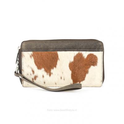 Portemonnee Bear Design HH 9165 Cow bruin