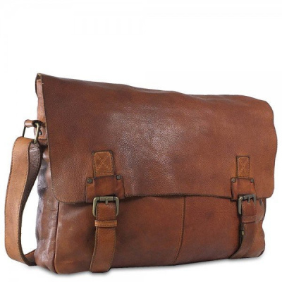 Harbour 2nd Yamal College Bag Leder cognac
